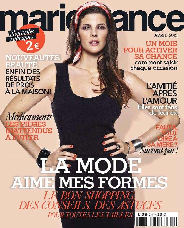 Marie France N°215 Avril 2013