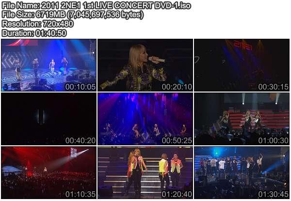 [Concert] 2NE1 1st Concert NOLZA! LIVE in SEOUL [DVD ISO]