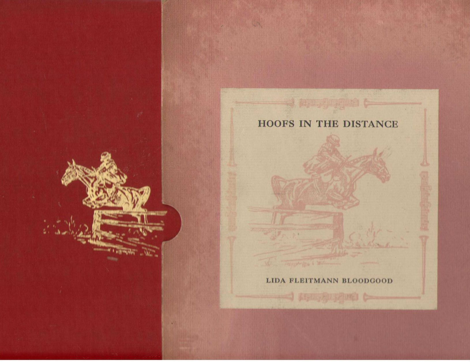 Hoofs in the Distance [Signed by Illustrator], Fleitmann, Lida L. (Mrs. J. Van S. Bloodgood)