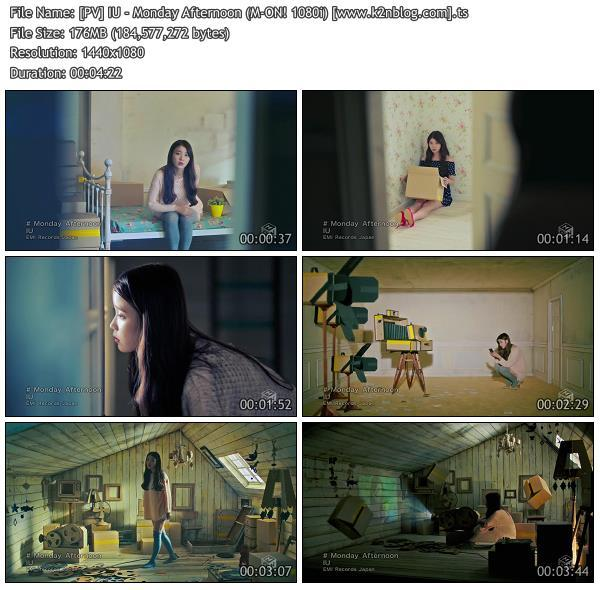 (PV) IU - Monday Afternoon (M-ON! HD 1080i)