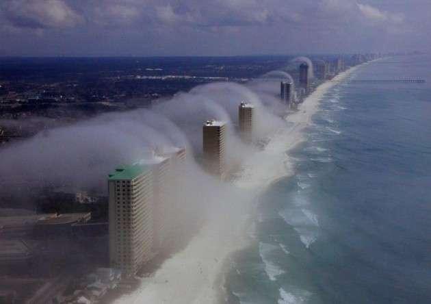 """noticias """"nubes tsunami"""" en Estados Unidos"""