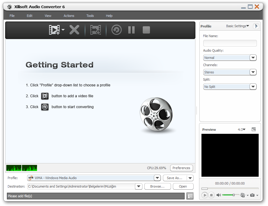 Xilisoft DVD Ripper Standard screenshot 2.