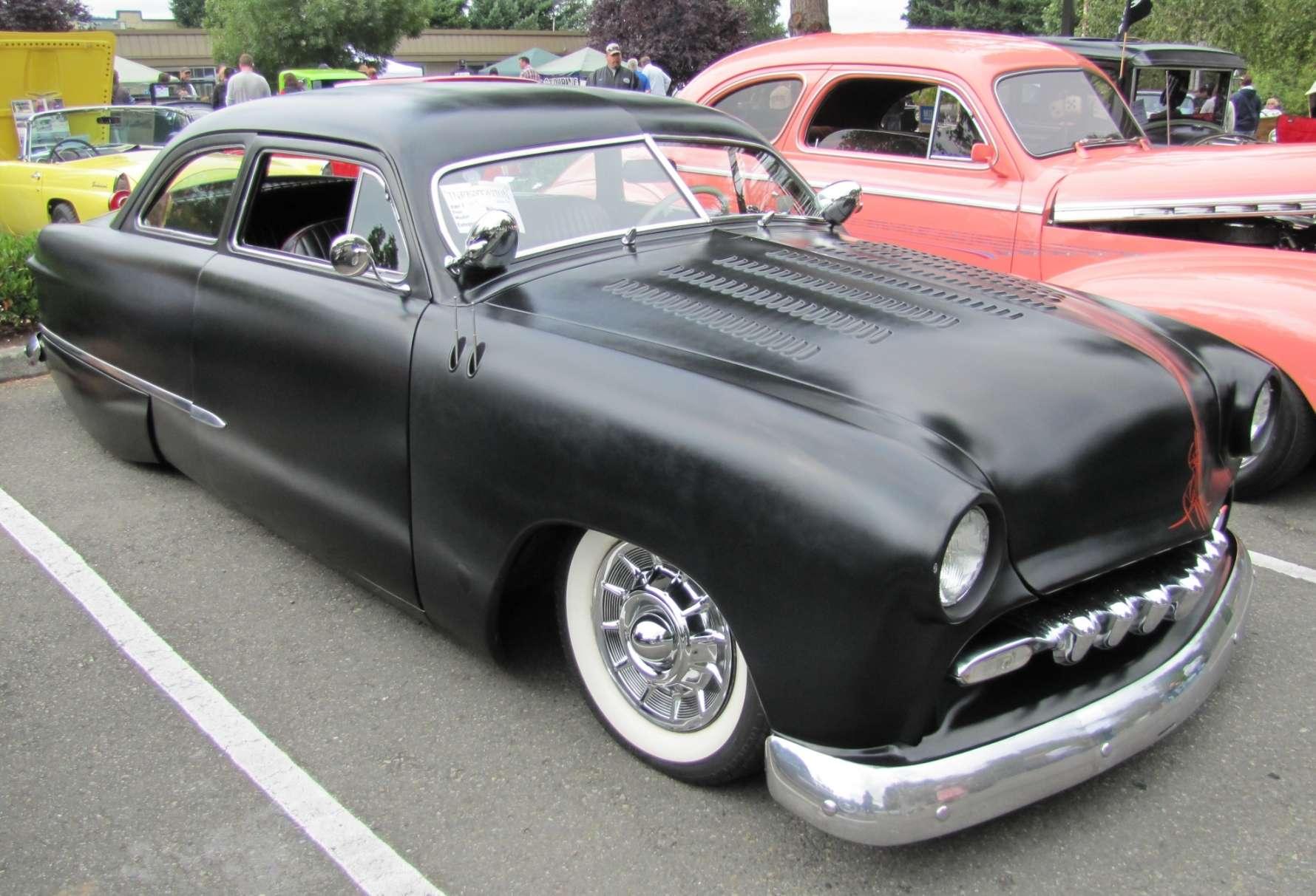 power cars ford custom 1950. Black Bedroom Furniture Sets. Home Design Ideas
