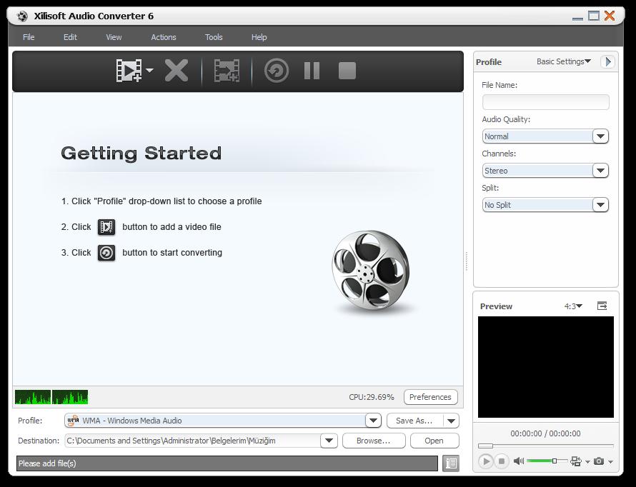 Xilisoft DVD Ripper Standard screenshot 2.